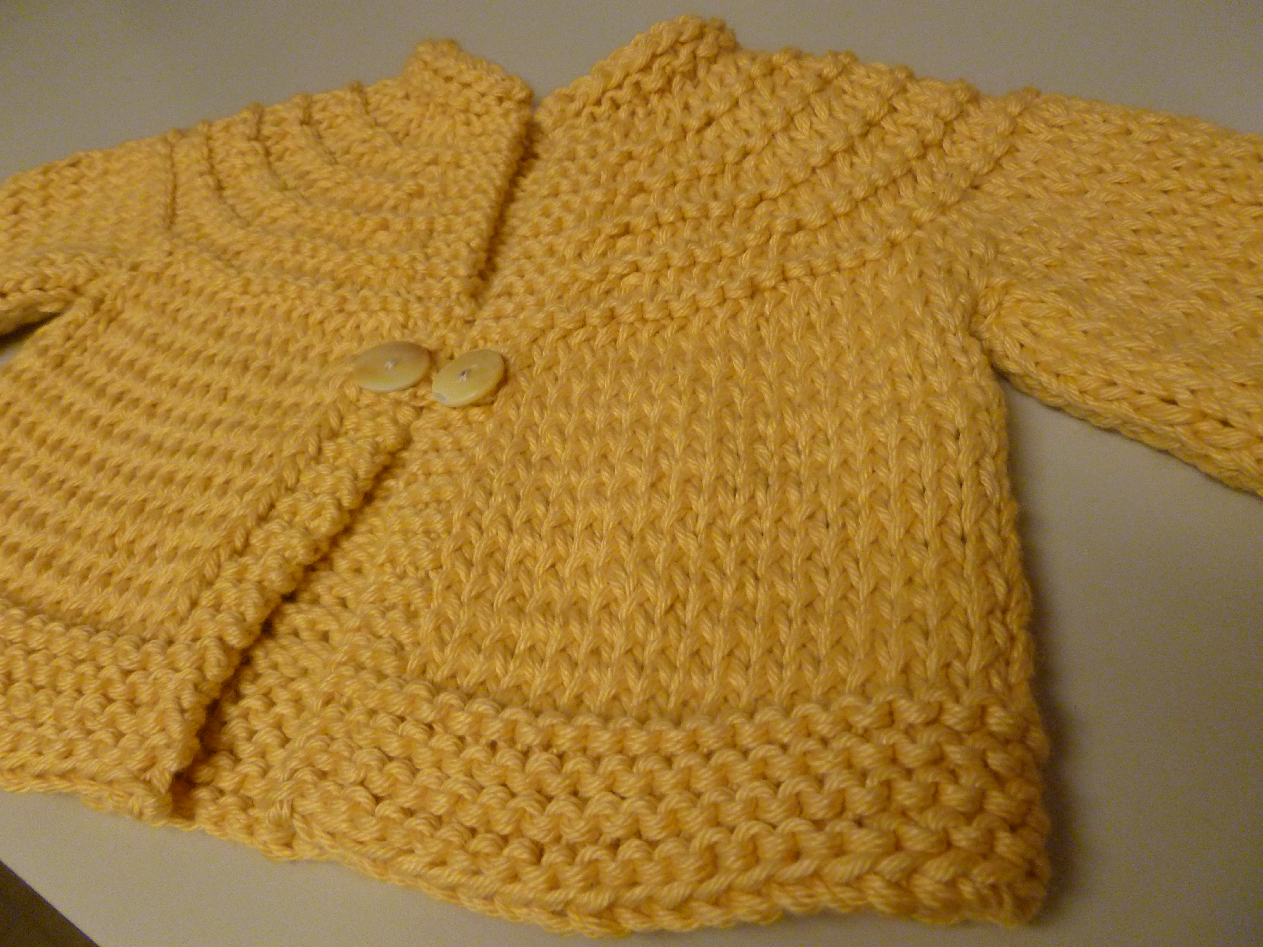 Trendy Baby Knitting Patterns Free : The (eventually) adorably precious baby sweater What It Is