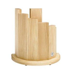 wooden knife rack magnetic